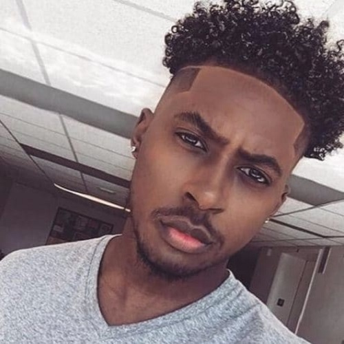 Chocolate and Blonde Black Male Hairstyles