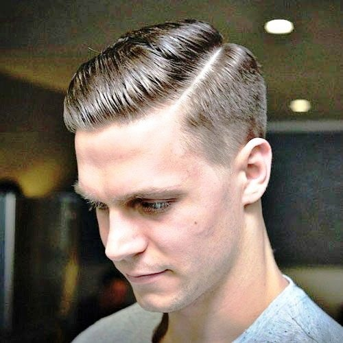 Classic Side Part with Short Sides