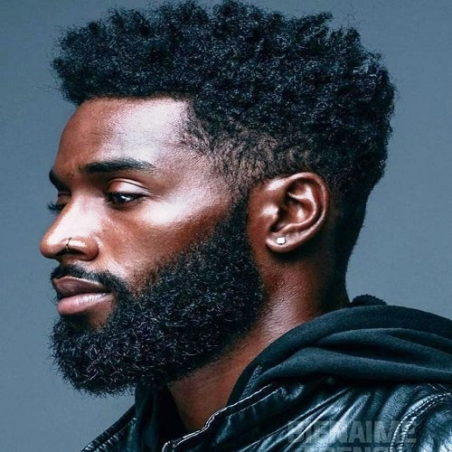 Natural Hairstyles for Black Men