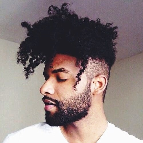 The Narrow Afro Haircuts for Black Men