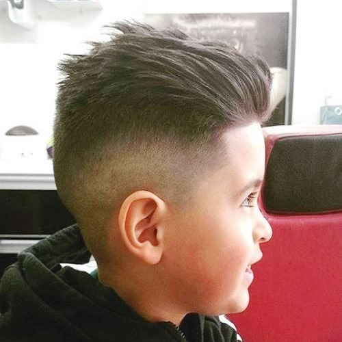 Boys Mohawk with Shaved Sides
