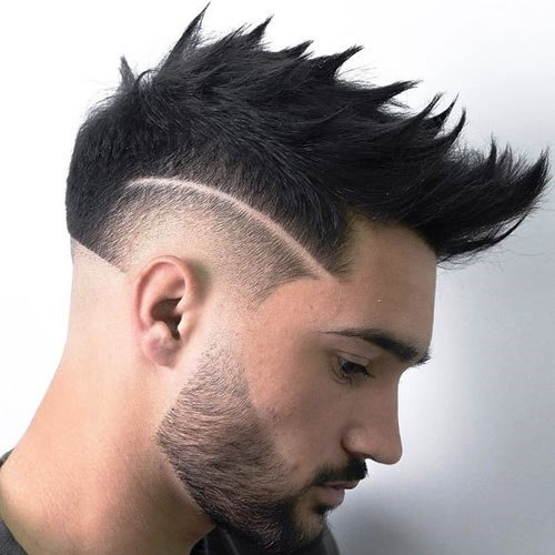 Burst Fade with Lineup