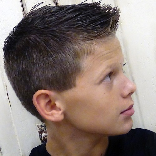 Caprice and Classic Black Toddler Boys Haircut