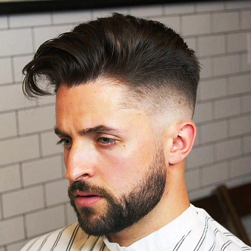 Taper Fade Undercut Hairstyle for Men