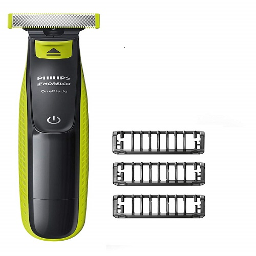 PHILIPS NORELCO ONE BLADE HYBRID FFP QP2520/90 10 Best Electric Shaver For Sensitive Skin