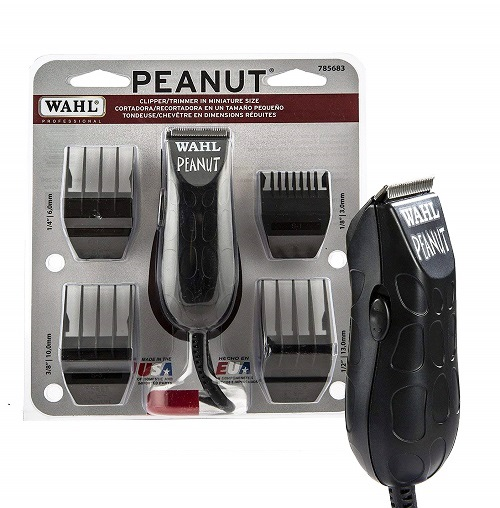 WAHL PEANUT CORDLESS CLIPPER-SELF CLEANING ELECTRIC RAZORS